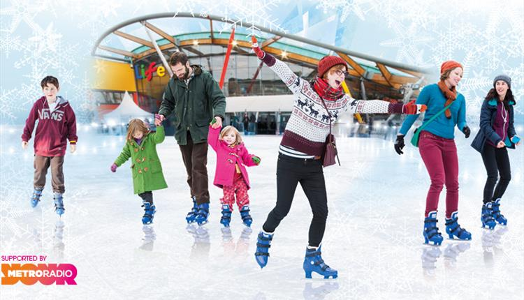 Ice Skating at Centre for Life
