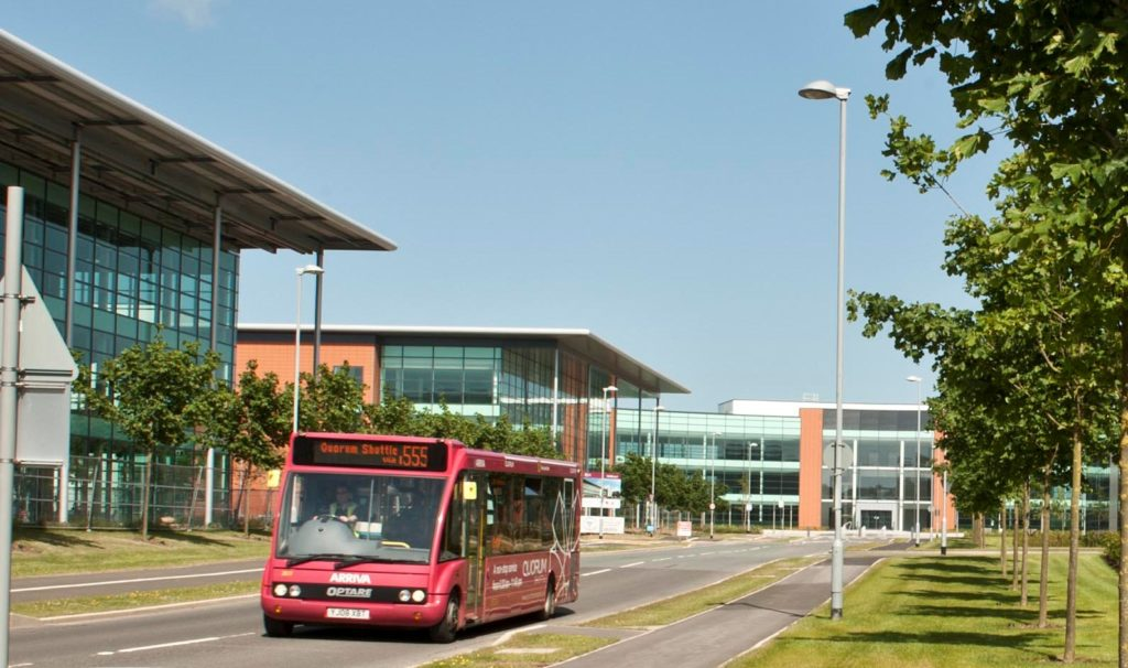 555 Shuttle Bus