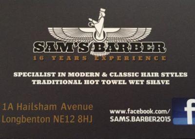 Sam's Barbers