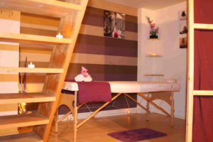 Massage Table- beauty and the spa offer