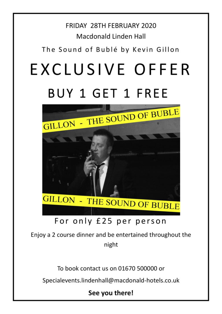 Buble at linden hall q card offer