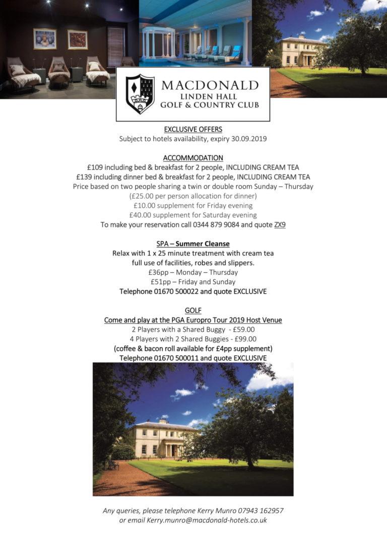 linden hall summer 2019 q card offer