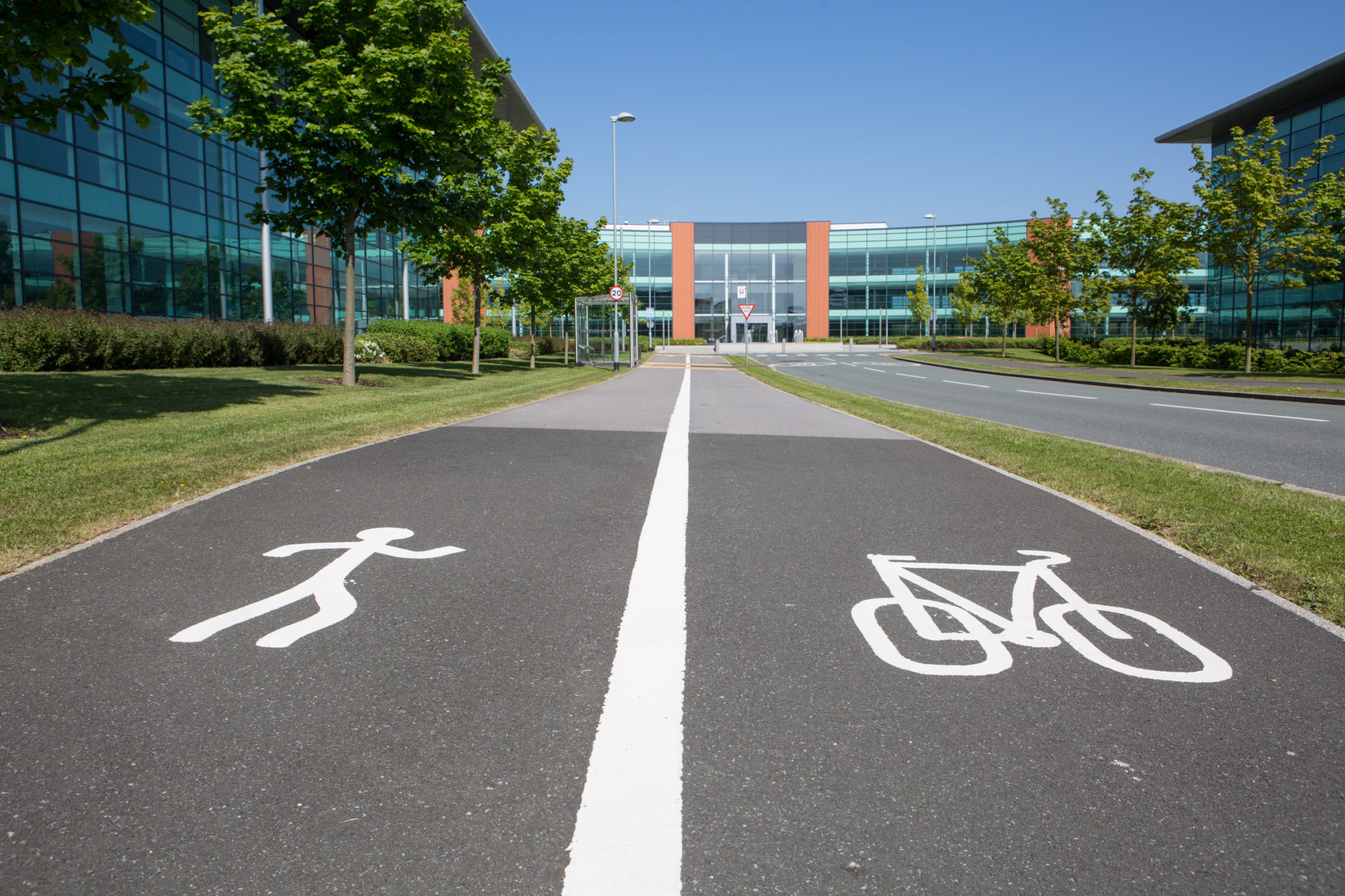 Multi Modes of Transport at Quorum Business Park