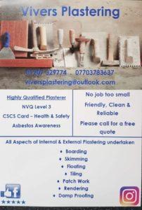 Plastering Flyer