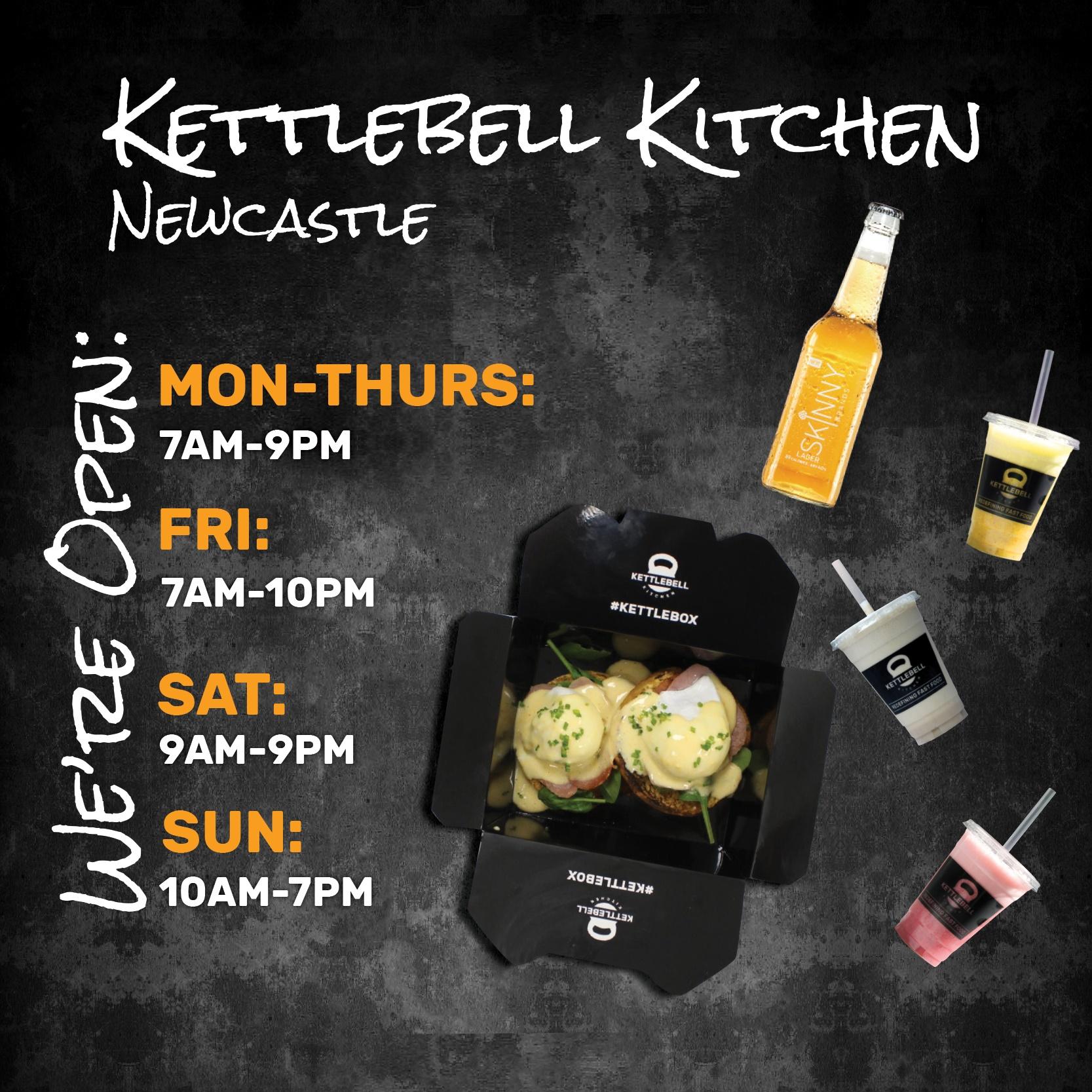 KettleBell Opening Hours