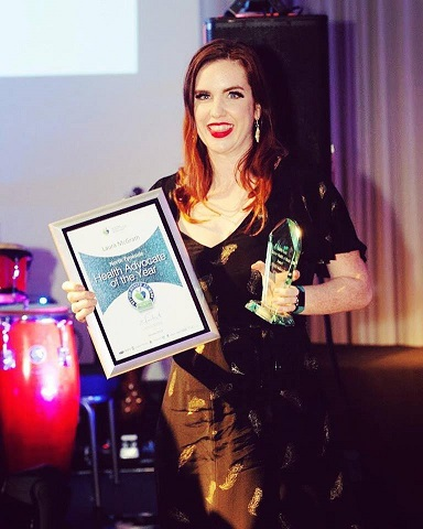 Laura McGrath wins Health Advocate of the Year