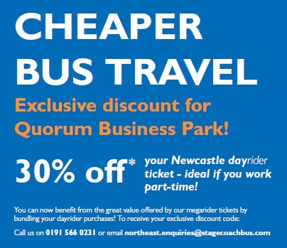 stagecoach quorum discount