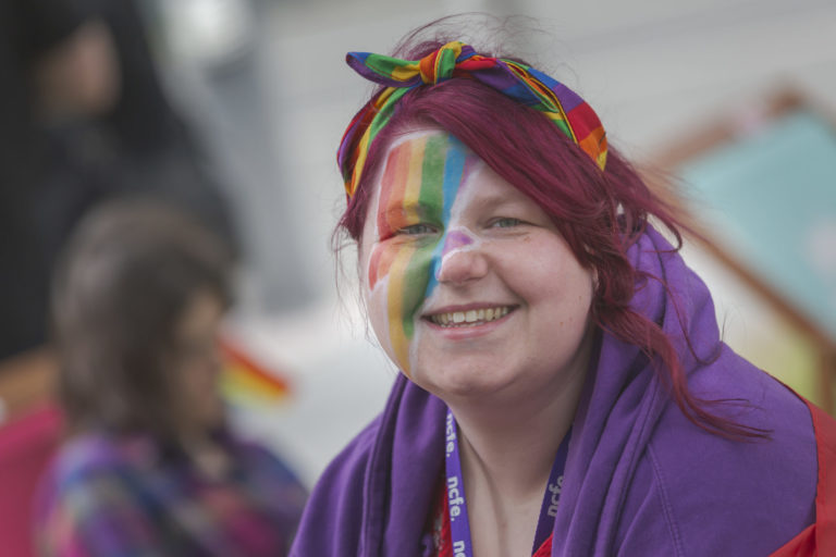 Pride event at Quorum Business Park Newcastle