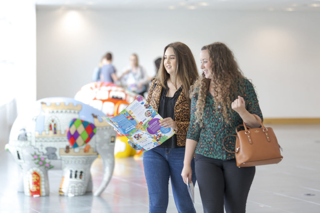Guests attend the Elmer's Read North Parade preview event at Quorum Business Park in Newcastle Picture: DAVID WOOD