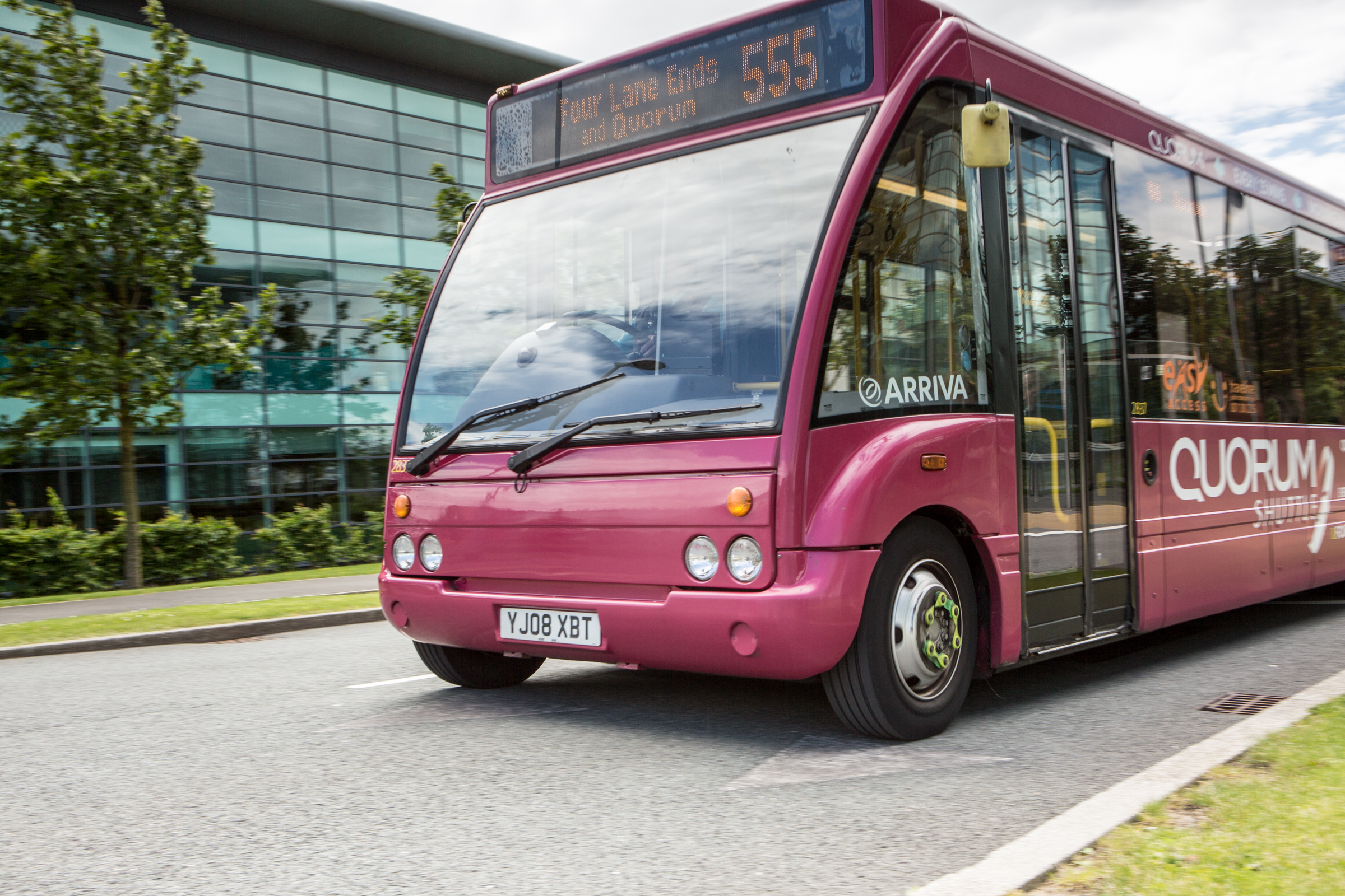 New Buses to Serve Quorum Park