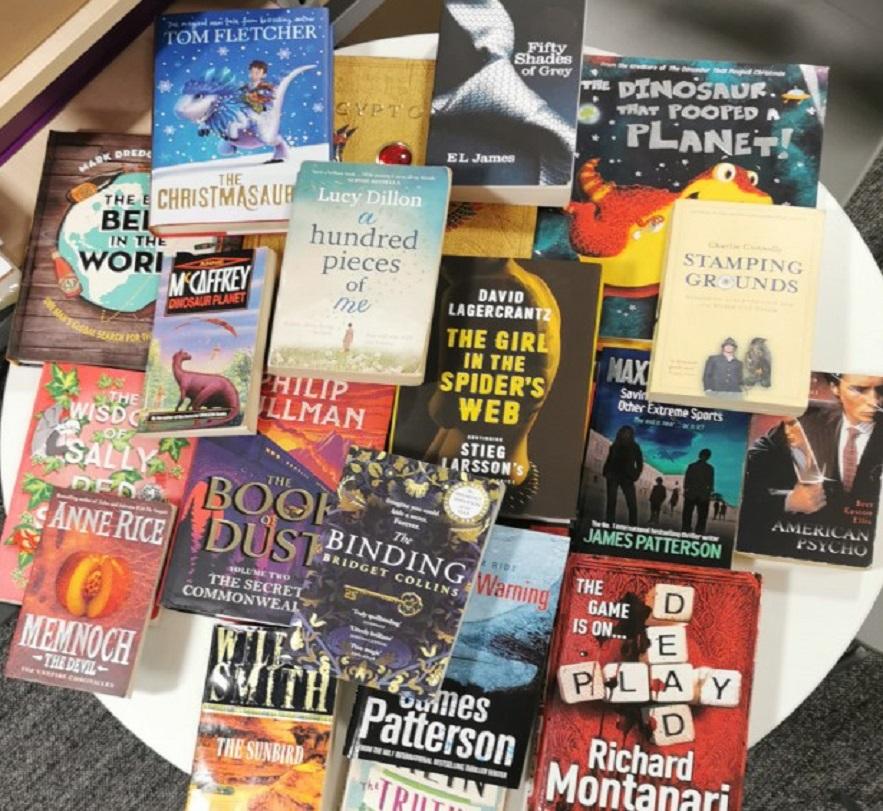 Book Swap Book Selection