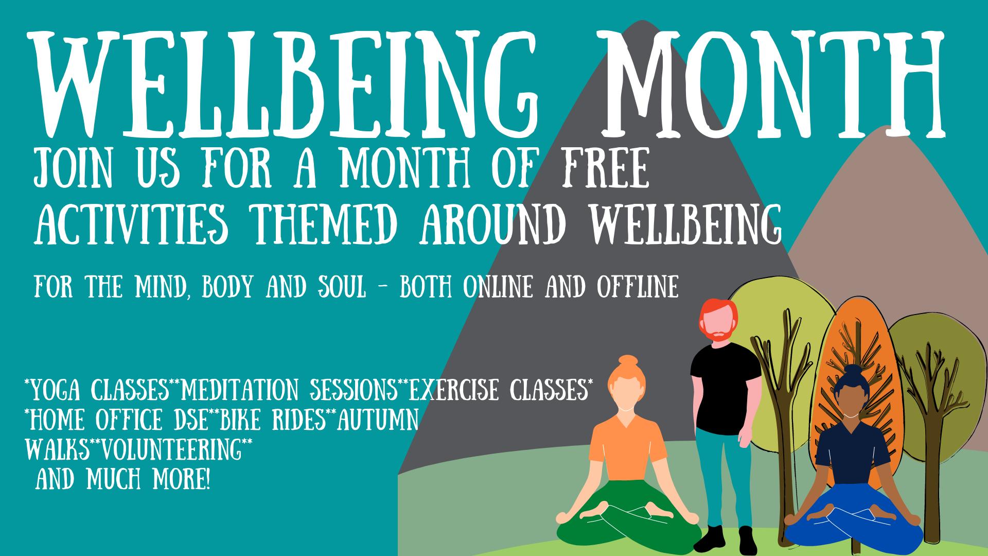 Wellbeing Event Header