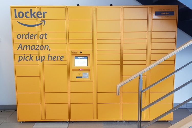 New Amazon Locker installed at Q11 Building