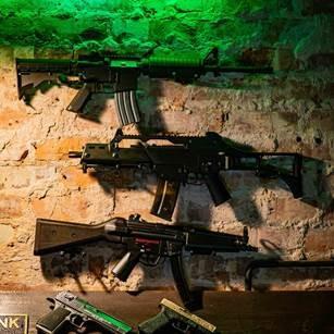 Guns for shooting range