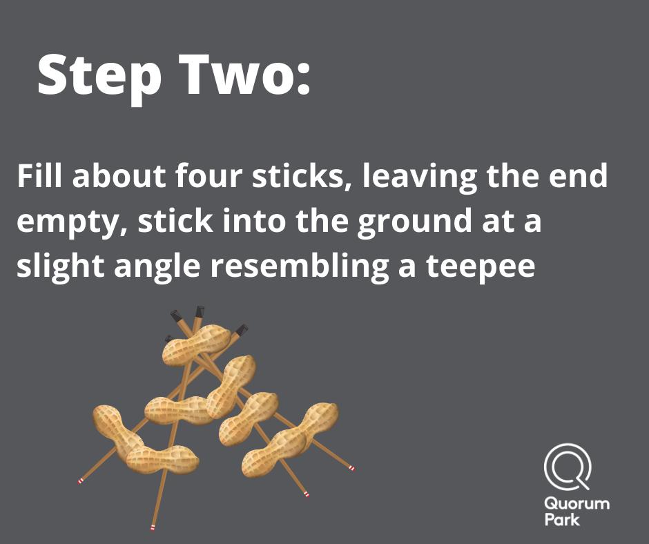 Make a teepee Shape