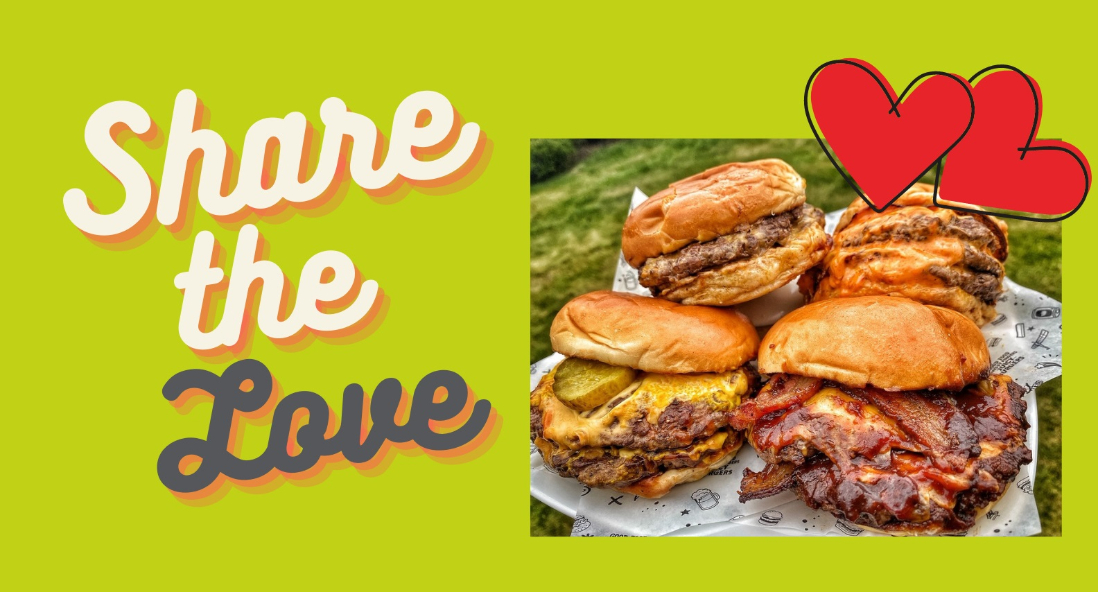 Share the love burger competition