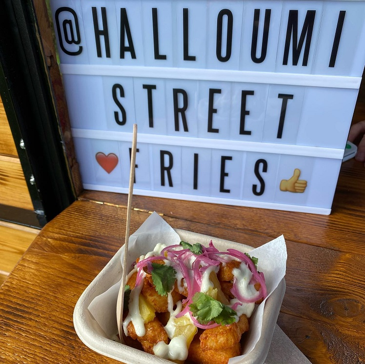 Halloumi Street Fries