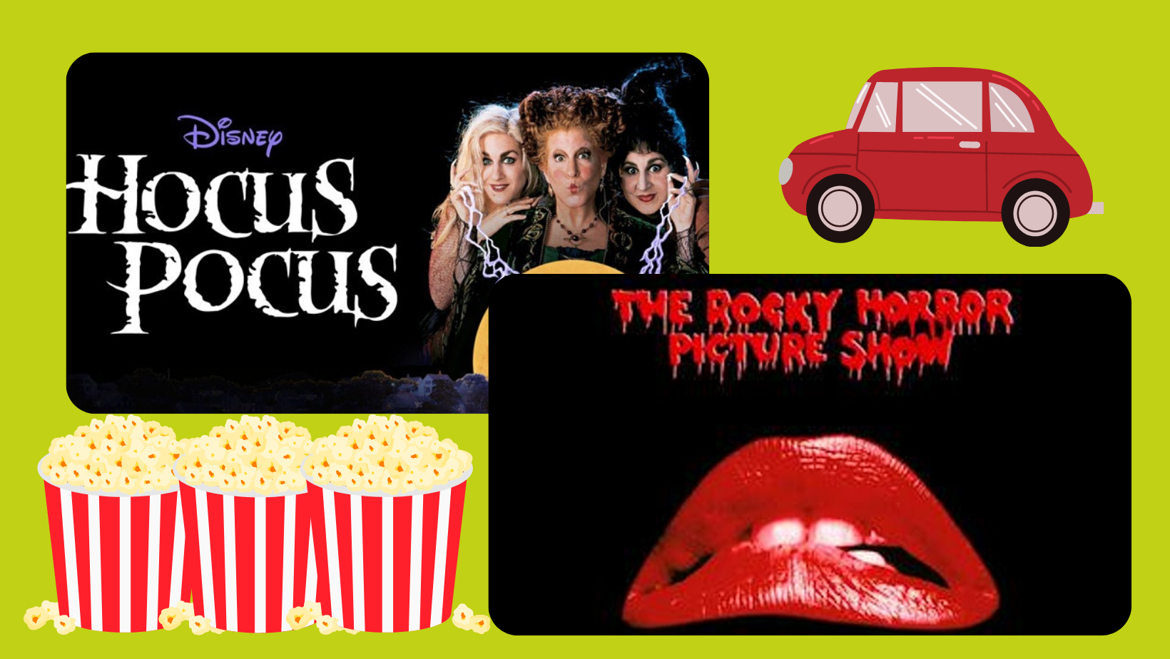 Hocus Pocus & Rocky Horror Show