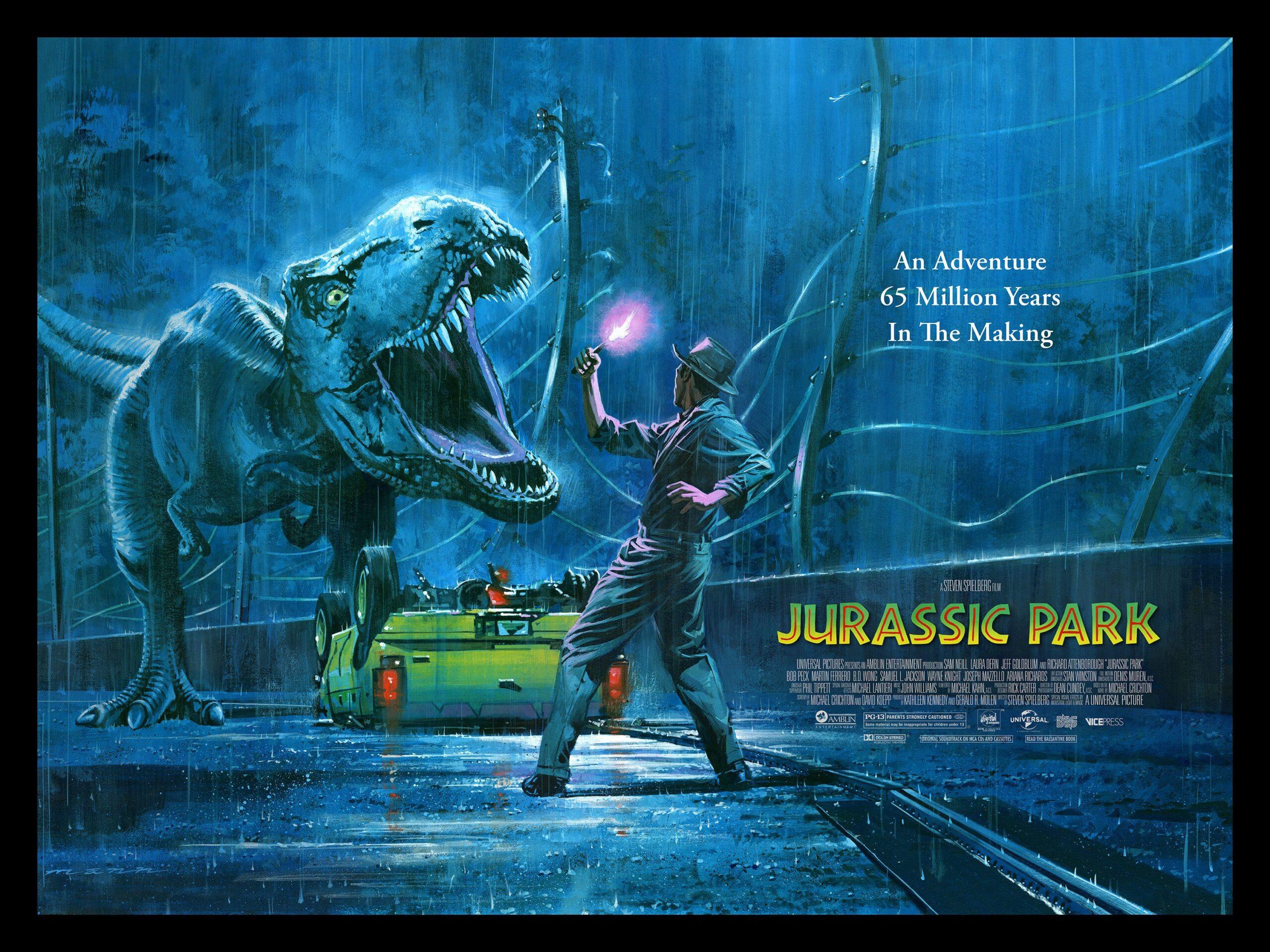 Jurrasic Park Film Poster
