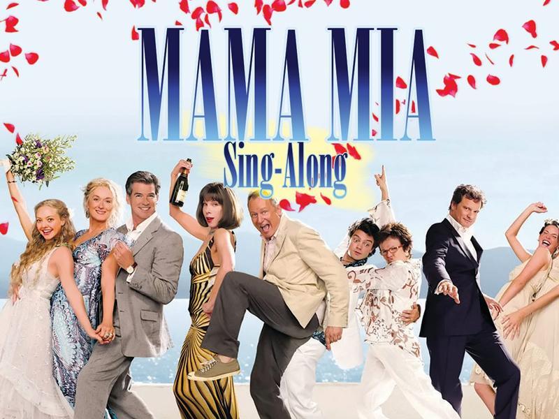 Mamma Mia Singalong Poster