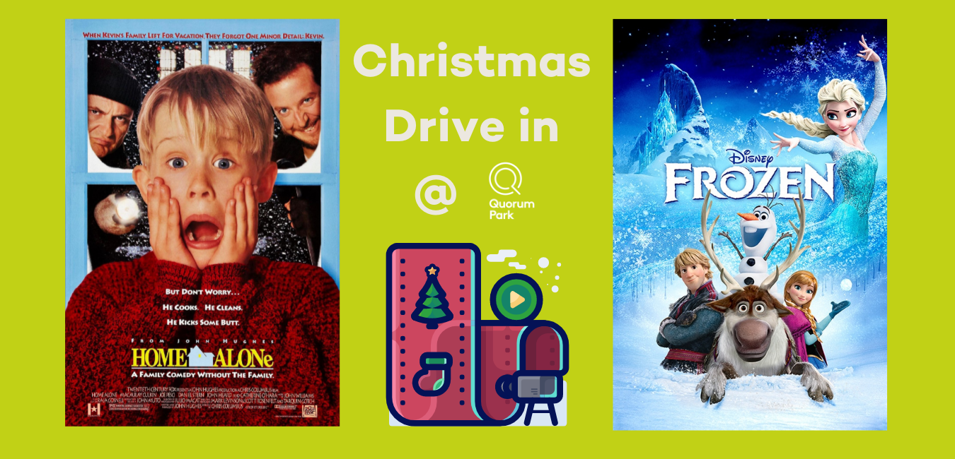 Christmas drive in image
