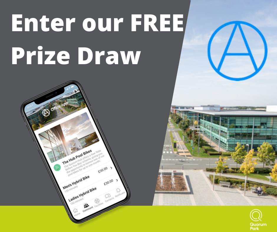 Enter our prize draw
