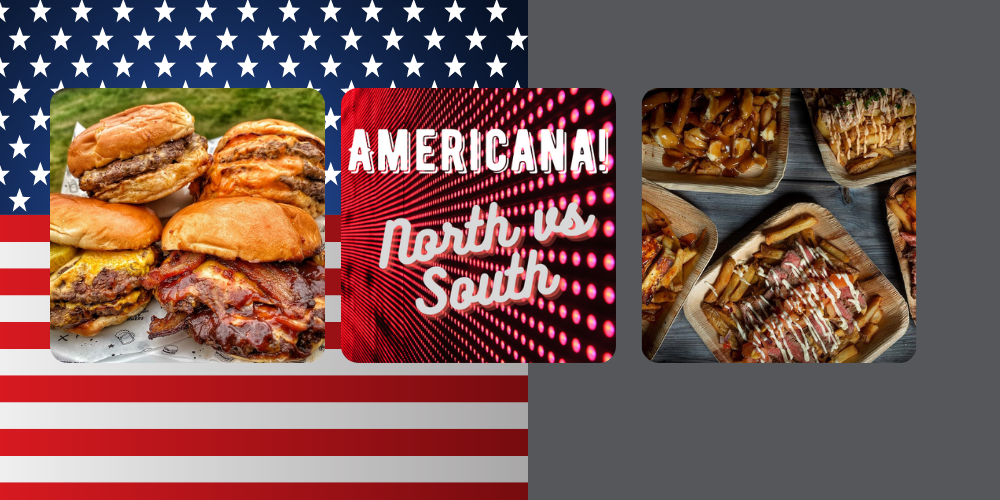 American North vs South