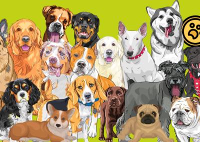 Virtual Dog Show