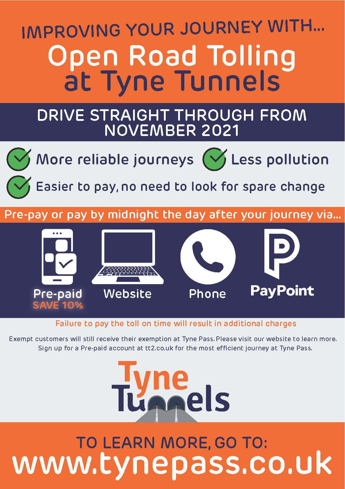 Tyne Pass A5 Newsletter Insert (NECA)